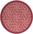 rug #363938   round borders rug