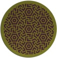 rug #363949 | round purple borders rug