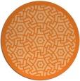 rug #363984 | round borders rug