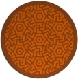 rug #363986   round borders rug