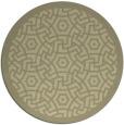 rug #364047   round borders rug