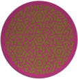 rug #364049 | round light-green circles rug