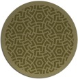 rug #364053 | round light-green circles rug