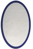 rug #370337 | oval plain white rug