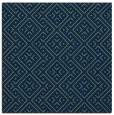rug #371501 | square blue popular rug
