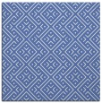 rug #371505 | square blue graphic rug