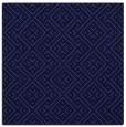 rug #371549 | square blue-violet geometry rug