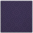 rug #371561   square purple traditional rug