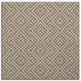 rug #371605 | square white geometry rug