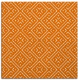 rug #371657 | square orange traditional rug