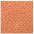 rug #371661   square orange geometry rug
