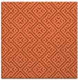 rug #371665 | square red-orange traditional rug
