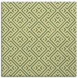 rug #371669 | square yellow graphic rug