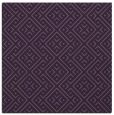 rug #371697 | square purple graphic rug