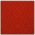 rug #371709 | square red traditional rug