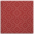 rug #371713 | square red traditional rug