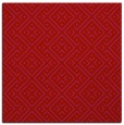 rug #371717 | square red traditional rug
