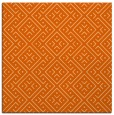 rug #371725 | square red-orange traditional rug