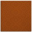 rug #371729 | square red-orange traditional rug