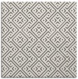 rug #371737   square black graphic rug