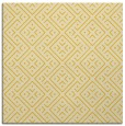 rug #371753 | square yellow graphic rug