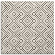 rug #371761 | square brown traditional rug