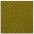 rug #371785 | square light-green traditional rug