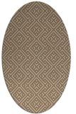 rug #371969   oval rug