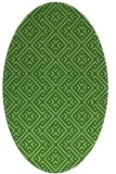 rug #371992 | oval traditional rug