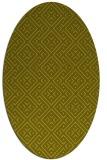 rug #372137   oval light-green popular rug