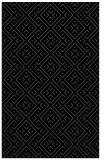 rug #372177    black traditional rug