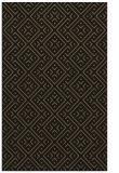 rug #372189 |  brown traditional rug