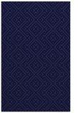 rug #372253 |  blue-violet graphic rug