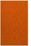 rug #372357 |  orange traditional rug