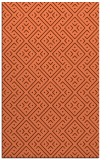 rug #372369 |  orange traditional rug