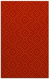 rug #372413 |  red graphic rug
