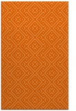 rug #372429 |  red-orange traditional rug