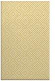 rug #372457 |  yellow traditional rug