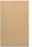 rug #372485 |  orange graphic rug