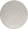 rug #372521 | round beige graphic rug
