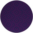 rug #372549 | round blue traditional rug
