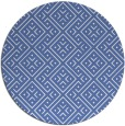 rug #372561   round blue traditional rug