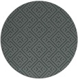 rug #372649 | round blue-green graphic rug