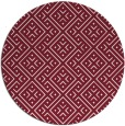 rug #372733 | round pink traditional rug