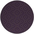 rug #372753 | round purple traditional rug
