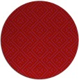 rug #372773 | round pink traditional rug