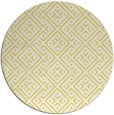 rug #372797   round white traditional rug