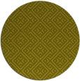 rug #372841 | round light-green graphic rug