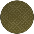 rug #372853 | round light-green graphic rug