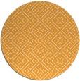 rug #372869   round light-orange graphic rug